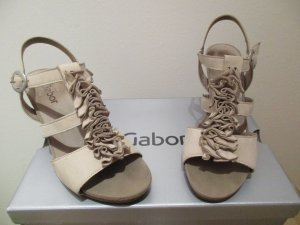 Gabor T-Strap Sandals multicolored leather