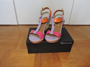 Tamaris High-Heeled Sandals multicolored