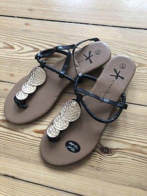 Sandalette mit Mini Absatz