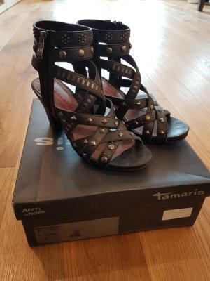 Tamaris Strapped pumps black