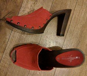 Sandalette Sandalen rot