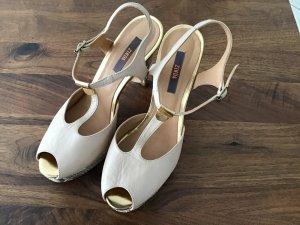 Zinda Platform High-Heeled Sandal multicolored leather