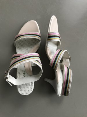 Unisa High-Heeled Sandals multicolored