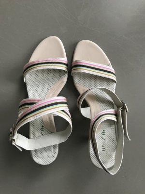Unisa High-Heeled Sandals multicolored