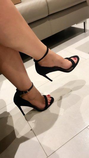 Asos High Heel Sandal black