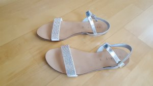 Esprit High-Heeled Sandals white-silver-colored