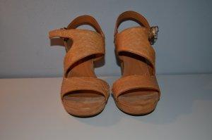 Geox High Heel Sandal cognac-coloured