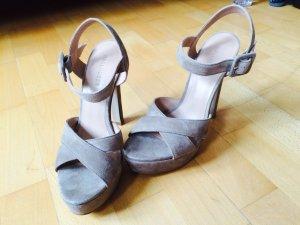 Sandalette von Hallhuber in nude