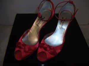 High Heel Sandal red