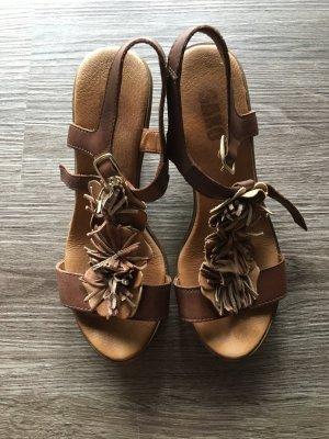 Sandaletten, 35, Pumps, High Heels, Keilabsatz