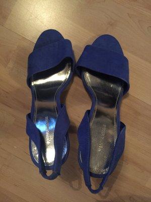 Sandaletten 37 Blau H&M