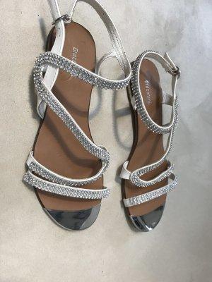Graceland Sandalo con cinturino bianco-argento