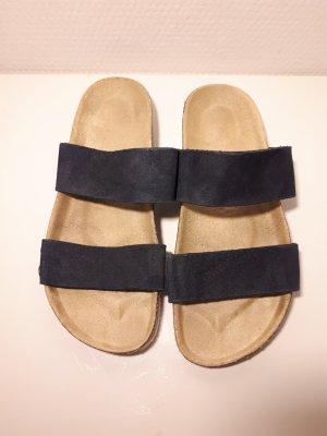 Esprit High-Heeled Sandals white-dark blue