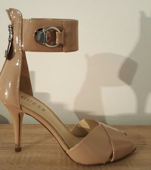 Guess High-Heeled Sandals cream