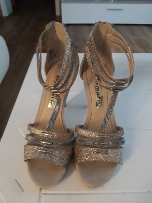 Tamaris High Heel Sandal silver-colored-gold-colored
