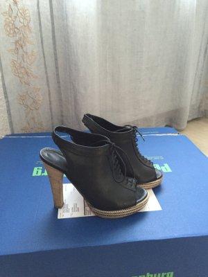 Sandaletten aus Italien, Leder