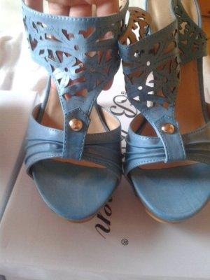 Sandaletten Belle Women blau