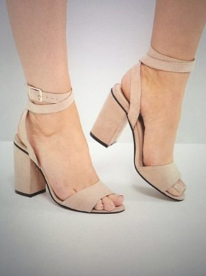 London Rebel High Heel Sandal rose-gold-coloured-dusky pink