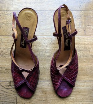 High Heel Sandal russet leather
