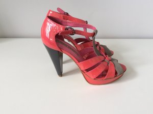 Buffalo Platform High-Heeled Sandal multicolored