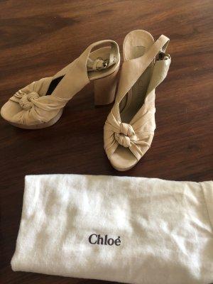 Sandaletten Clogs Chloe NEU