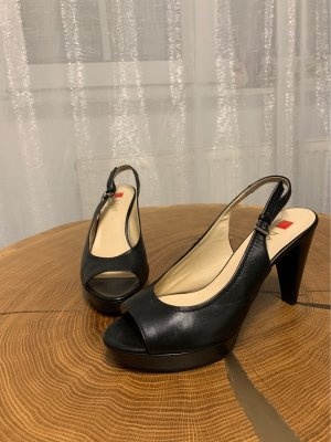Högl Platform High-Heeled Sandal black