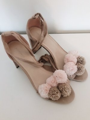 Reserved High Heel Sandal cream