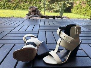Sandaletten Elfenbein von Crossby Derek Lam Gr. 6M