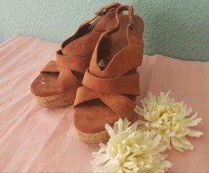 Sandaletten*Esprit*braun * Größe 38