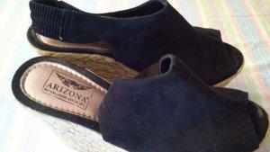 Arizona Plateauzool Sandalen met Hoge Hakken veelkleurig Leer