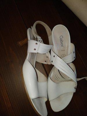 Gabor High Heel Sandal white