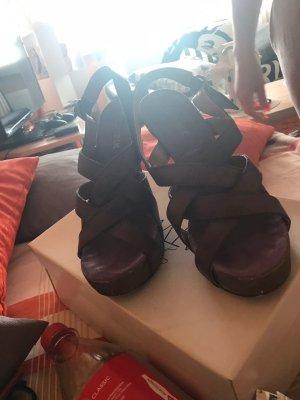 Sandalias cómodas púrpura