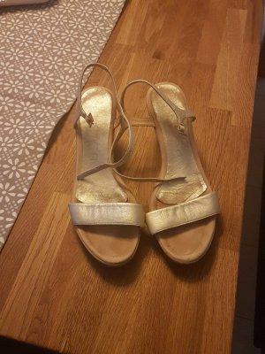 Sandaletten Gold Unisa