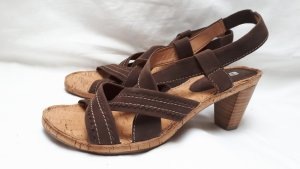 ara Strapped Sandals brown