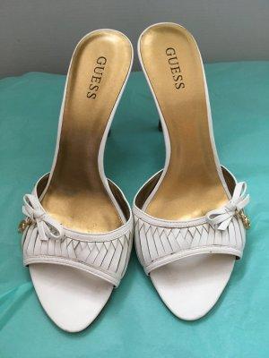 Guess High Heel Sandal white