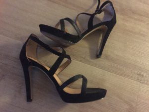 Sandaletten High Heels in Schwarz