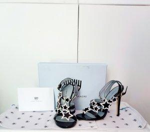 Sandaletten high heels von Chiara Ferragni gr. 38 mit Karton