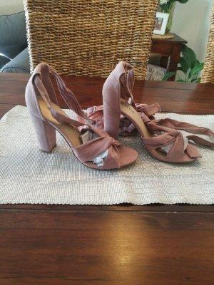 Sandaletten in Blush