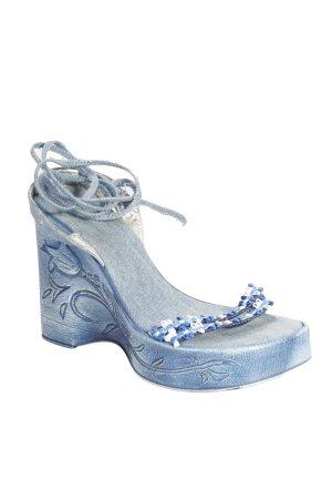 Sandals in Jeansoptik blue