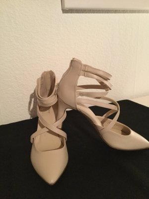 Graceland High-Heeled Sandals oatmeal
