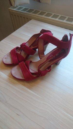 ara Sandalen met hoge hakken rood