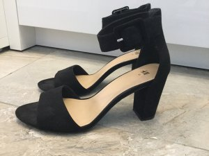 H&M High-Heeled Sandals black
