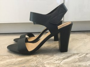 Aldo High-Heeled Sandals black leather