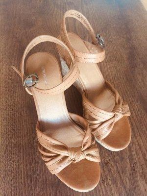 Sandaletten Keilabsatz 38