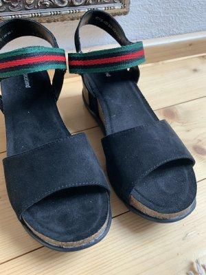 Deichmann Platform High-Heeled Sandal black