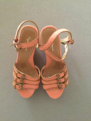 2cced88adfbf4 Sandaletten Keilabsatz