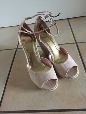 H&M Platform High-Heeled Sandal multicolored