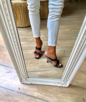 ae elegance Wedge Sandals black