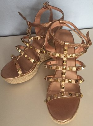 Kayla Wedge Sandals multicolored