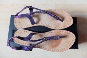 Sandaletten Lila Größe 38